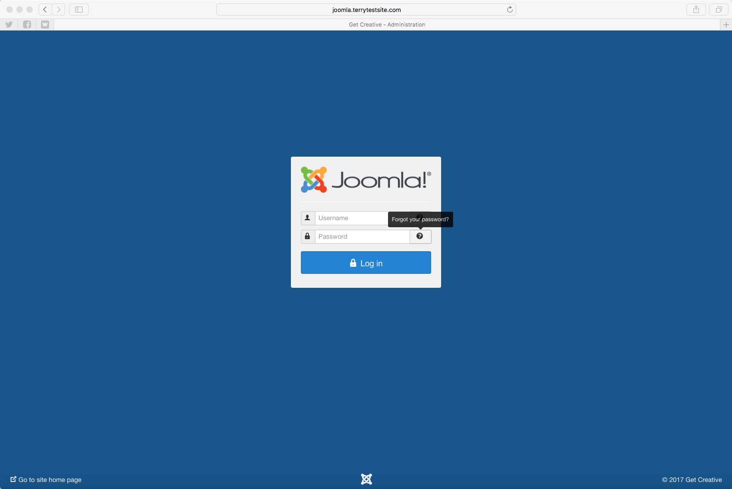 How to reset your Joomla! password - HostPapa Knowledge Base