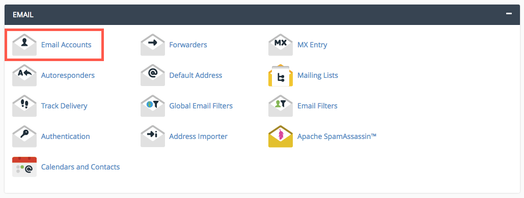 cPanel Email Settings