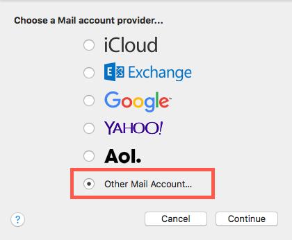 How to change an account from POP to IMAP in Apple Mail