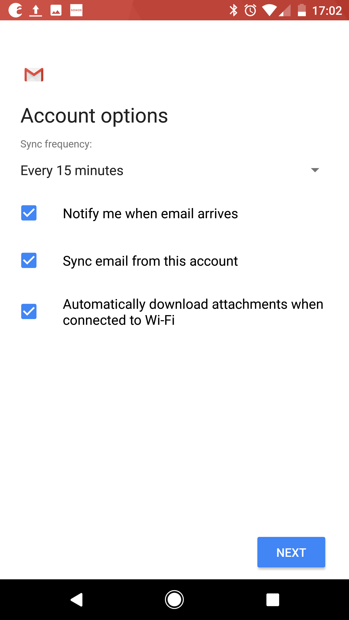 How to change an account from POP to IMAP on Android 8 (Oreo