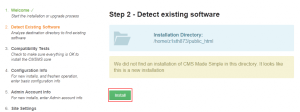 detect-existing-software