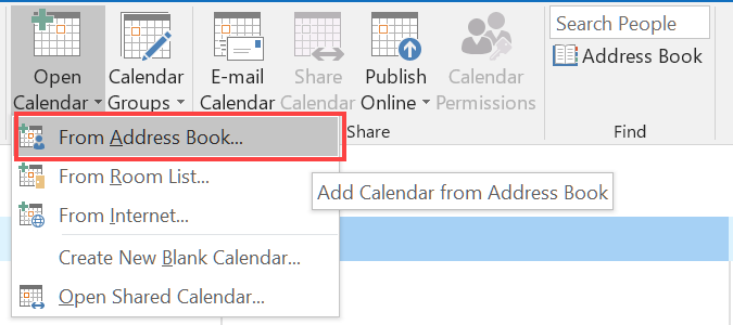 how to open and view multiple calendars in outlook 2016 hostpapa