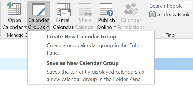 how to create calendar groups in outlook 2016 hostpapa knowledge base
