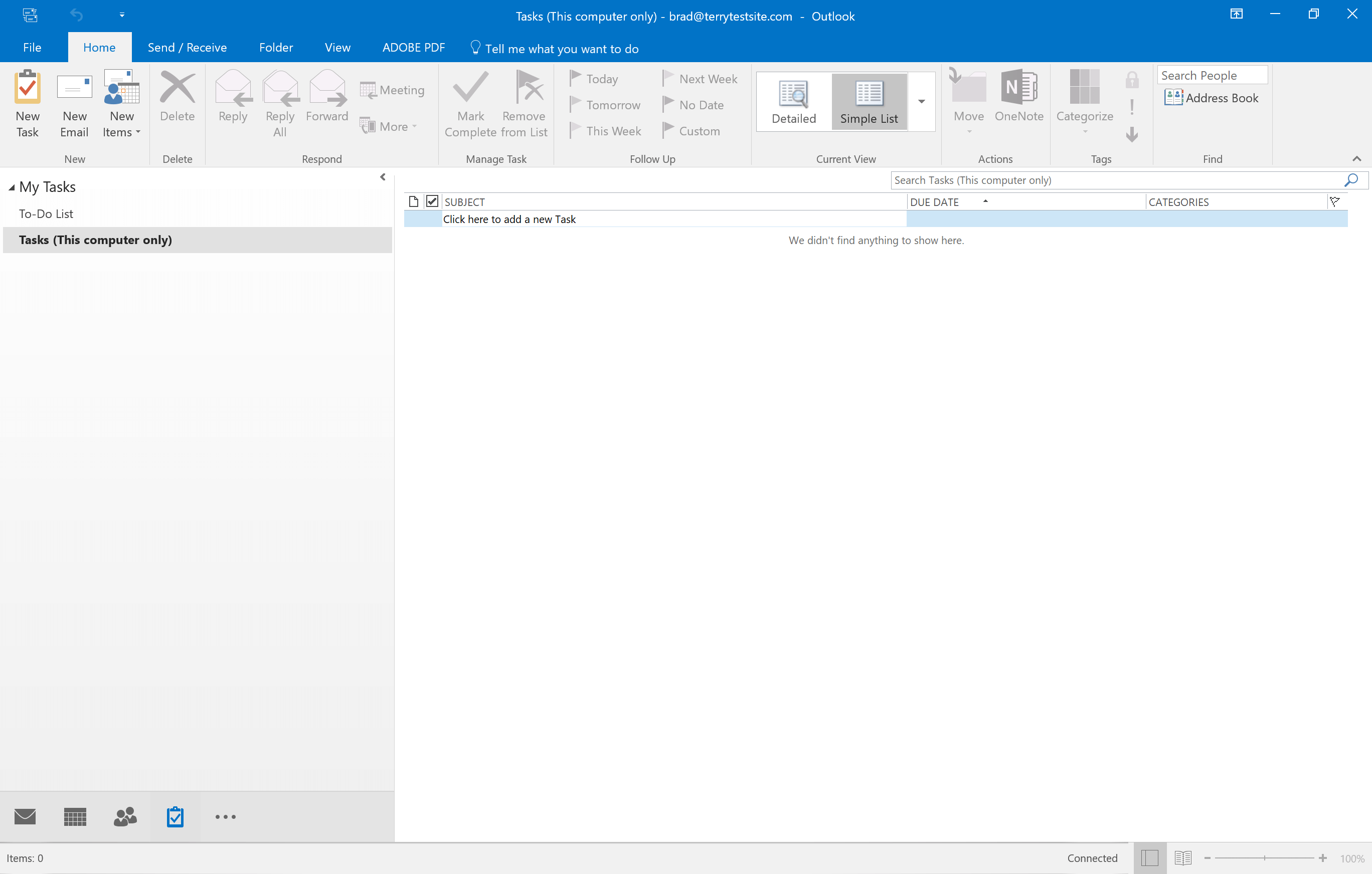 How to view tasks and to-do lists in Outlook 2016 - HostPapa