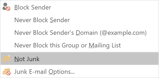 How to block unwanted emails in Outlook - HostPapa Knowledge Base