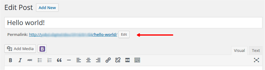 How to add the redirect code to your WordPress pages