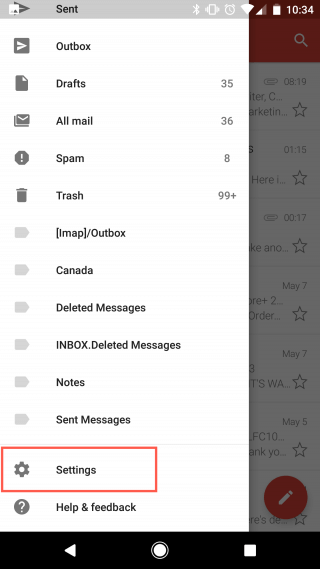 How to set up your Basic/Advanced Email on Android